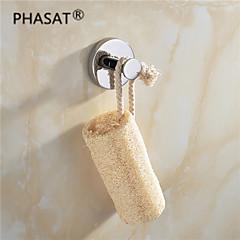 "PHASAT®,Badjashaak Chroom Muurbevestiging 45*58*58mm(1.8*2.3*2.3"") Messing Modern"