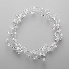 Femme / Jeune bouquetière Cristal / Alliage Casque-Mariage / Occasion spéciale Serre-tête 1 Pièce Clair