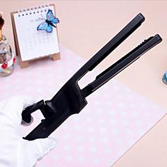 קליפ יון מקצועי זיגוג הקרמיקה הסד חשמלי מחליק שיער ישר ליישר ברזל