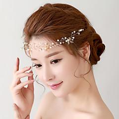 Korean Crystal / Alloy / Imitation Pearl / Plastic Headpiece - Wedding / Special Occasion Headbands