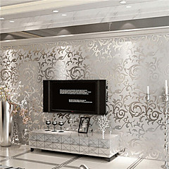 Art Deco Baggrund Moderne Vægbeklædning , Ikke vævet papir Materiale Lim påkrævetRoom Wallcovering
