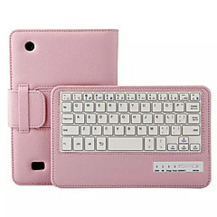 7 inch PU Leather Case with Bluetooth 3.0 Keyboard for Amazon Kindle Fire HD 7(2015)(Assorted Colors)