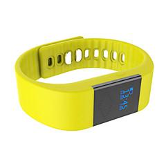 M1 Okos karkötő / Testmozgásfigyelő Elégetett kalória / Lépésszámlálók / Hang hívás / Ébresztőóra / Távolságmérés / Alvás követőBluetooth