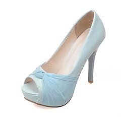 Women's Shoes Customized Materials Stiletto Heel Heels Sandals Wedding / Office Party & Evening / DressBlue / Pink