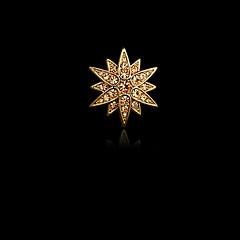 Homme Femme Imitation de diamant Alliage Mode Argent Doré Bijoux Mariage Soirée Quotidien Décontracté