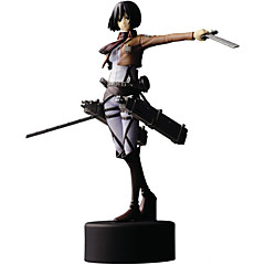 Anime Action Figures geinspireerd door Attack on Titan Mikasa Ackermann PVC 14 CM Modelspeelgoed Speelgoedpop