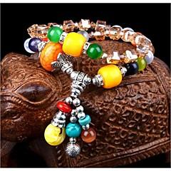 Natural Opal Ring lucky evil Crystal Bracelet