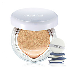 Bioaqua®Foundation Moisture / Whitening / Concealer / Waterproof / Uneven Skin Tone / Natural / Air Cushion BB 15g 1Pc