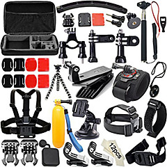Gopro Accessories Anti-Fog Insert / Protective Case / Monopod / Suction Cup / Straps / Hand Grips/Finger Grooves / Accessory KitAll in
