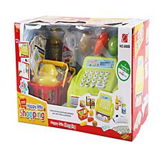 kinderen educatief speelgoed. de kassier suit