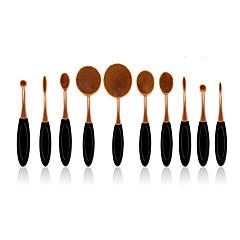 10 Set di pennelli Capelli sintetici Coppa larga / Professionale Plastic Viso / Occhi / Labbro MAKE-UP FOR YOU