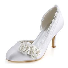 Hvid-Dame-Bryllup Sko-Bryllup / Formelt / Fest/aften-høje hæle-Hæle