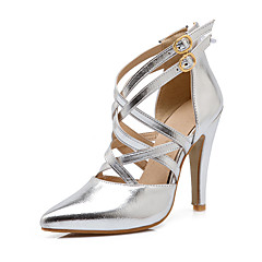 Women's Shoes Stiletto Heel Heels / Pointed Toe Heels Wedding / Party & Evening Blue / Pink / Silver
