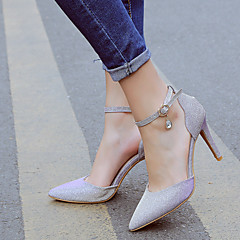 Women's Shoes Customized Materials Spring / Summer / Fall / Winter Heels / Pointed Toe Wedding / Dress / Party & Evening Stiletto Heel
