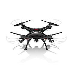 Syma X5SW 4-kanals fjernstyret quadcopter m. 6 aksler, indbygget HD-kamera m. wi-fi og real time FPV-transmission af foto og video