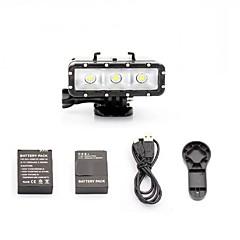 אביזרים לגו פרו סוללה / נקודת האור LED / מפתחות ברגים / כבל עמיד במים / נוח / חסין לאבק, ל-מצלמת פעולה,GoPro Hero 5 / כל / SJCAM / SJ4000