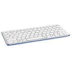 opprinnelige Rapoo e6350 ultra tynn slank metall bluetooth 3.0 trådløst tastatur for pc tablet svart / hvit / blå / gul / rød