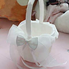 Flower Basket Satin Garden Theme / Fairytale ThemeWithBow