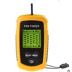 Fischfinder Sonar Sensor Alarm LCD Grüne LED 4×AAA