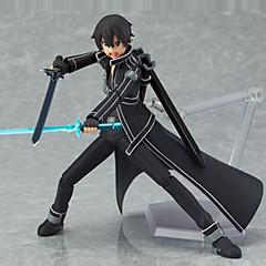 נתוני פעילות אנימה קיבל השראה מ Sword Art Online Saber PVC 13 CM צעצועי דגם בובת צעצוע