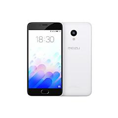 """MEIZU Meizu m3 5.0 """" Flyme OS טלפון חכם 4G (SIM כפול Octa Core 13 MP 2GB + 16 GB לבן)"""