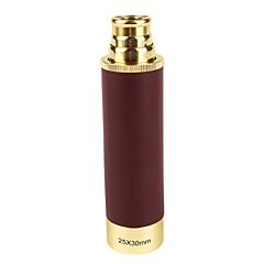 25X 34 mm מונוקולרי חדות גבוהה HD פוקוס מרכזי ציפוי מלא שימוש כללי נורמלי חום