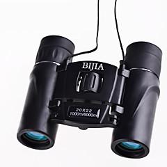 BIJIA 20 22 mm Dalekohled HD BAK4 Generic / Střešní Prism / Porro Prism / Vysoké rozlišení / Spotting Scope / Noční vidění / Voděodolný