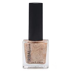 1pc Environmental Rotection Persistent Quick-Drying Oily Shiny Metal Color Nail Polish