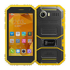 "Kenxinda PROOFINGS W6 4.5 "" Android 5.1 Smartphone 4G ( Chip Duplo Quad Core 5 MP 1GB + 8 GB Cinzento / Amarelo )"