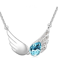 Thousands of colors  Women's Alloy Necklace Daily Crystal-1-1127