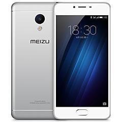 """MEIZU Meizu 3s 5.0 """" Android 5,0 4G smarttelefon ( Dubbla SIM kort Octa-core 13 MP 2GB + 16 GB Grå / Vit )"""