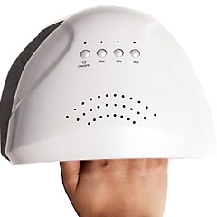 36W LED Nail Dryer - White Light Nail Lamp Fast Drying For Fingernail & Toenail Gel Polish Curing Manicure Nail Tools