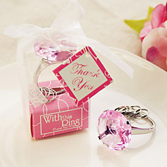 Diamond Ring Keychain Wedding Favor, Party Gifts