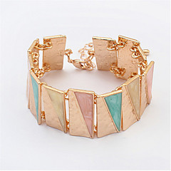 European And American Fashion Triangle Bracelet
