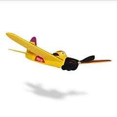 WS WS9122 2canaux 2.4G Avion RC Noir Télécommande 1 Batterie Pour Drone Manuel D'Utilisation Avion Câble USB