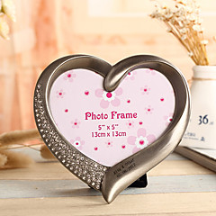 Vintage Theme / Rustic Theme Chrome Photo Frames Silver