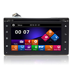 "6.2 ""2DIN TFT touch screen in-dash bil dvd-afspiller med gps, BT, radio, SD / USB, RDS, phonelink"
