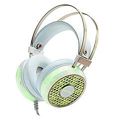 ECHOTECH YM-G800 ヘッドホン(ヘッドバンド型)Forメディアプレーヤー/タブレット / 携帯電話 / コンピュータWithマイク付き / DJ / ゲーム / Hi-Fi / 監視