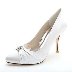 8a48abacce0 Γυναικείο Γαμήλια παπούτσια Τυπική παπούτσια Άνοιξη Καλοκαίρι Σατέν Γάμου  Πάρτι & Βραδινή Έξοδος Τεχνητό διαμάντι Τακούνι