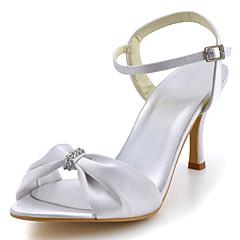 בלרינה\עקבים-נשים-נעלי חתונה-עקבים / נעלים עם פתח קדמי-חתונה / שמלה / מסיבה וערב-שחור / כחול / צהוב / ורוד / סגול / אדום / לבן / כסוף /