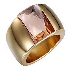 Premium gold plated 18K gold inlaid with gold silver open ring