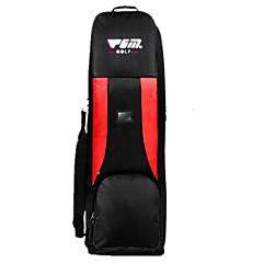 L Golfschläger Reisetasche Golfspiel Draußen Reise Wasserdicht Staubdicht Schützend Multifunktions Klappbar Auf Rädern Nylon Baumwolle PGM