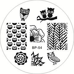 Nail Art Stamping Plate Stamper Scraper 6*6*0.1