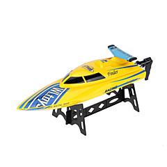 Motoros siklócsónak WLTOYS WL911 Sporthajó RC Hajó Kefés elektromotor 4CH 2,4 G Műanyag Fehér Piros Sárga