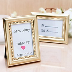 Beter Gifts® Wedding Décor - 1Piece/Set - 50th Anniversary Place Holder Favor / Photo Frame Party Decoration