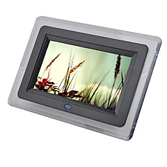 7 inch digital picture frame 800480 usb 20 with clockmusicmovie play support