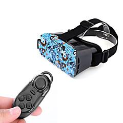 """VR 3d video headset briller + bluetooth-kontrolleren for 4,7 ~ 6 """"mobiltelefoner"""