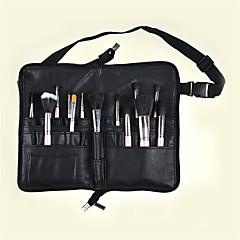 pu make-up kartáč kapsa na skládací taška celokožené zip ruční