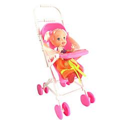 1487 accessoires kelly poupée mini-poussette de bébé maison de rêve sucré sans bébé bébé voiture bb jouet