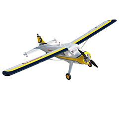 Dynam Beaver DHC2 1:8 Brushless Eléctrico 50KM/H Quadcopter RC 5 canales 2.4G EPO White Necesita Un Poco de Ensamblaje